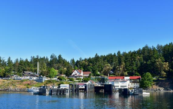 Orcas Island ferry dock San Juan Islands for kids and families