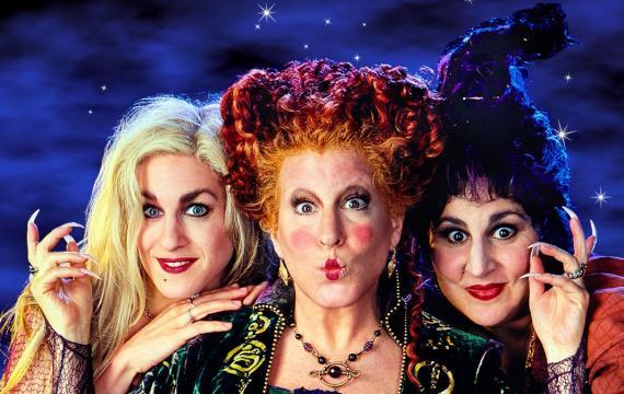 Hocus Pocus witches screenings this Halloween