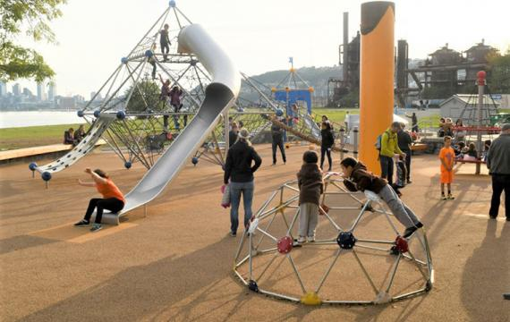 gas works new playground