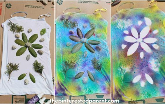tie dye art project