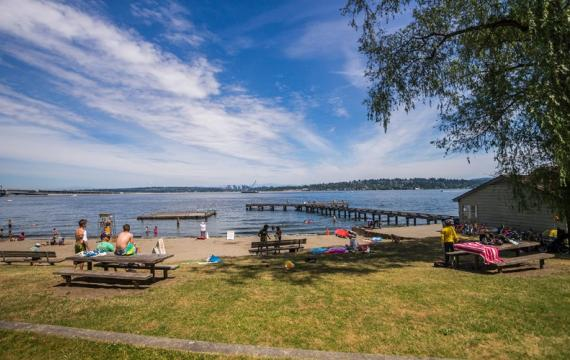 Mount Baker Park great picnic spots for families around Seattle