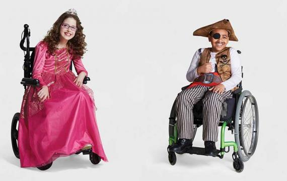 adaptive princess and pirate costumes