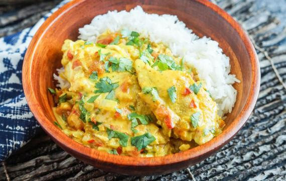 Fijian Fish Curry