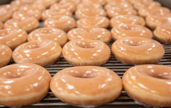krispy kreme glazed doughnuts national doughnut day free doughnuts one week