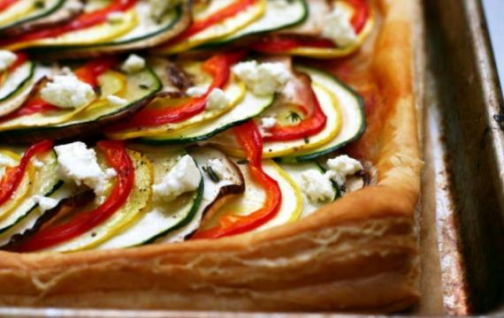 Ratatouille-tart