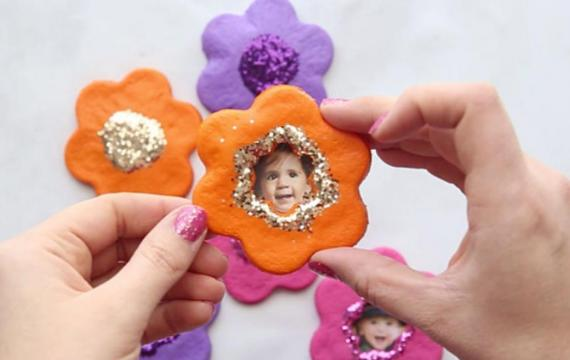 salt-dough-flower-magnet